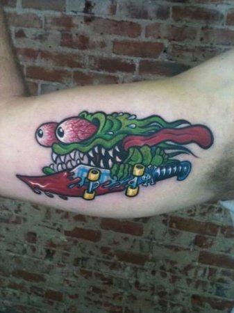 Интересные татуировки