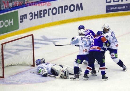 КХЛ. Сибирь - Динамо Минск - 2:4