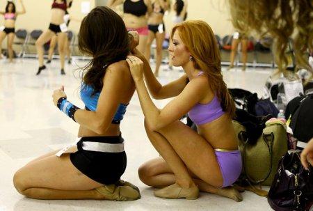Как проходит отбор девушек в группу поддержки