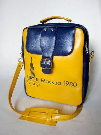 Ретро-сумка к предстоящей олимпиаде