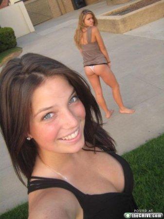 Девушки и улыбки