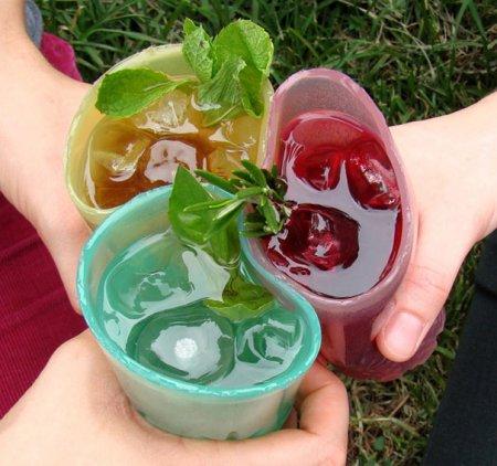 Жевательные стаканы