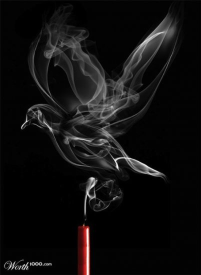 Красота дыма