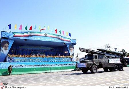 Военный парад в Иране