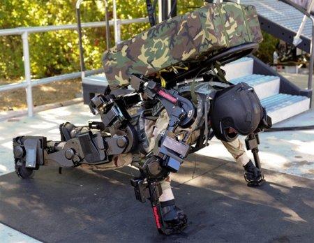 Raytheon Sarcos XOS 2 - второе поколение экзоскелета