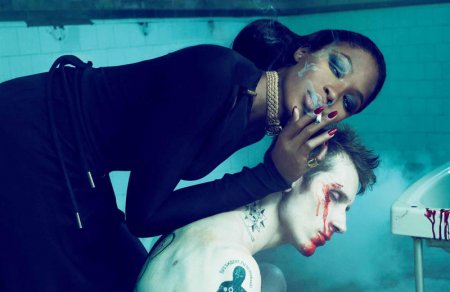 Naomi Campbell by Mert & Marcus for Interview October 2010