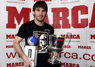 Месси признан лучшим футболистом чемпионата Испании сезона-2009/2010