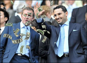 Шейх Мансур вернулся на первое место в списке самых богатых людей британского футбола, Усманов опередил Абрамовича