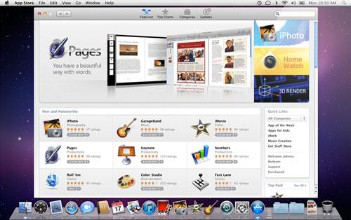 Компьютеры Mac обзаведутся магазином приложений