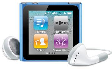 Плееры iPod отметили 9-й день рождения