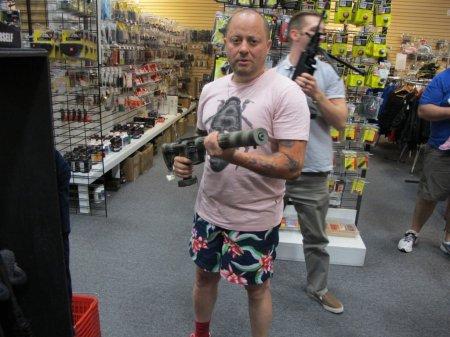 Оружейный магазин в Штатах