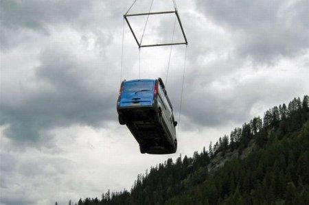Как спасали застрявший грузовичок