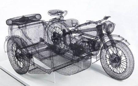 Удивительные 3D скульптуры
