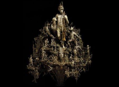 Нетривиальные скульптуры Криса Кукси