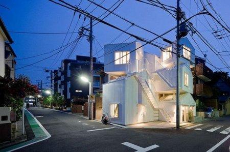 Необычный дом в Токио