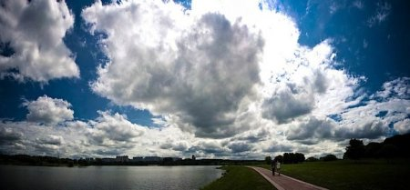 Потрясающие облака