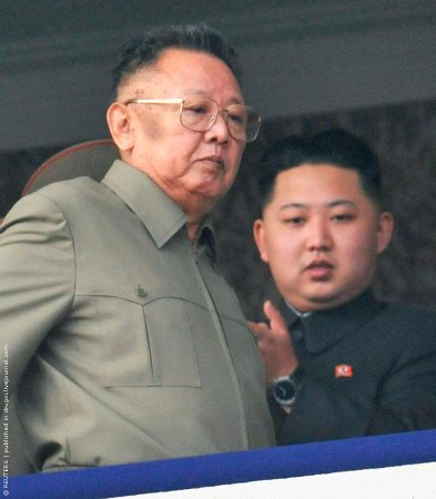 Большой парад в Пхеньяне