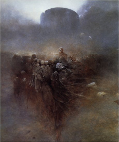 Здислав Бексински (часть 1)