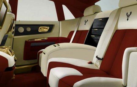 Анонсирован золотой Rolls-Royce Ghost