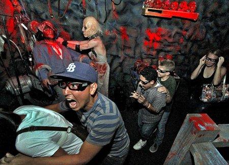 Комната ужасов Universal Studios