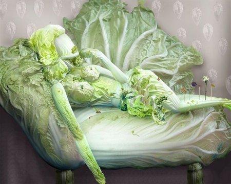 Китайское овощное исскуство