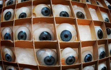Производство стеклянный глазных протезов