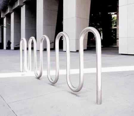 Велопарковка как арт-объект