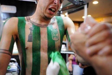 Футбольная татуировка