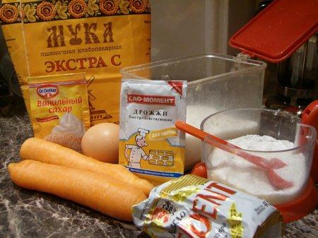 [выпечка] Морковные булочки