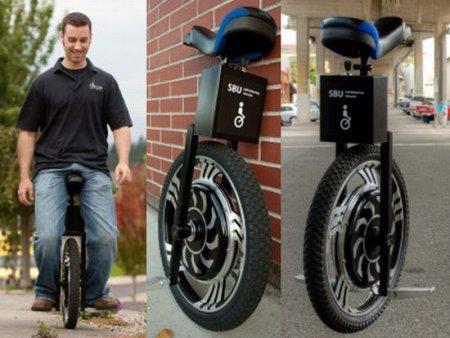 Self Balancing Unicycle: одноколесный скутер на электродвигателе
