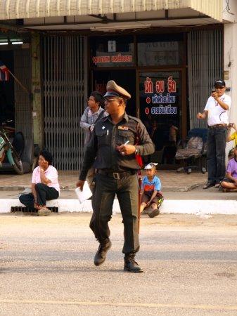 Необычный Тайский полицейский