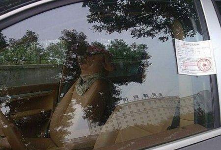 Забавный тюнинг пассажирского сиденья
