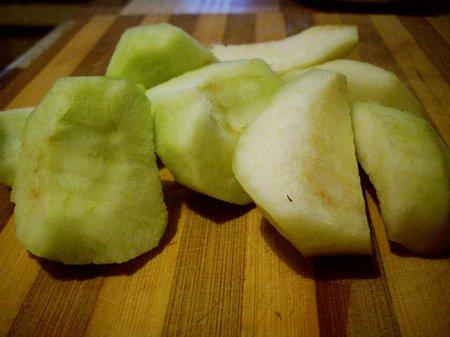 Блинчики с творогом и фруктами
