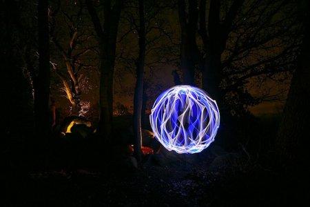 Красивые игры со светом