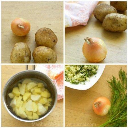 [выпечка] Пирожки с картофелем, луком и пармезаном