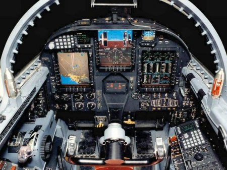 Кокпиты боевых истребителей