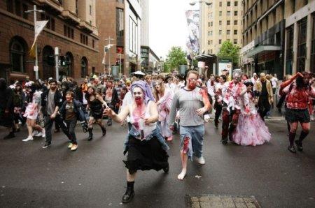 Зомби-Парад в Австралии