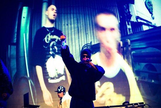 """Hip-Hop движение"" Каста, Баста и Гуф. Минск. 23.10.2010 [Photo by Navstyachka ©]"