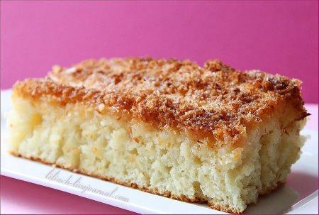 [выпечка] Кокосовый пирог (Buttermilchschnitten)