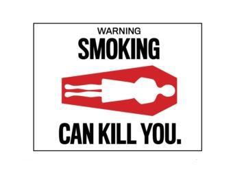 Американцы решили припугнуть курильщиков изображениями трупов
