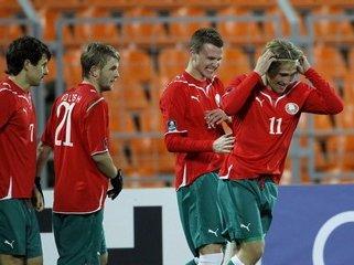 Сборная Беларуси по футболу разгромила в гостях команду Омана