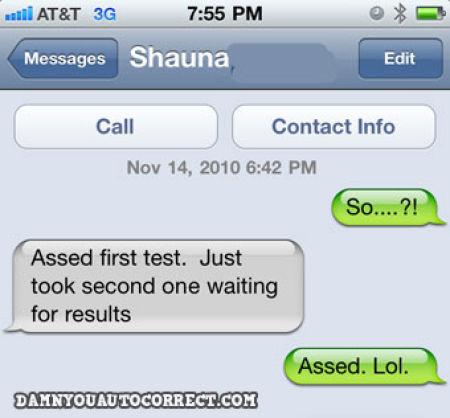 Автокоррекция в iPhone жжот!