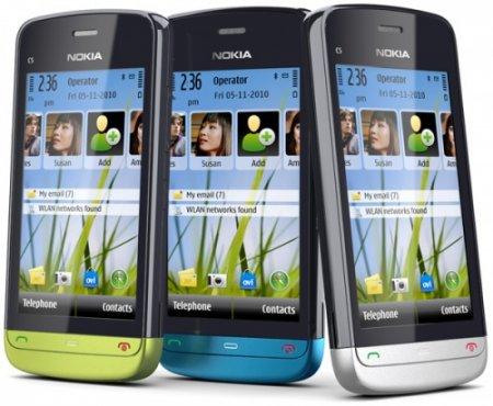 Сенсорная новинка от Nokia