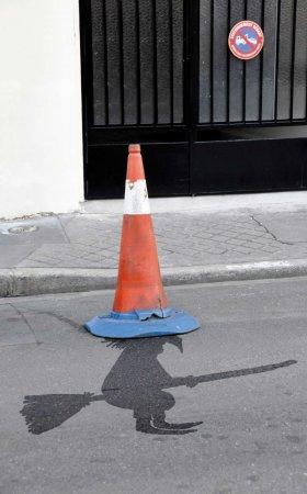 Уличный арт Sandrine Estrade Boulet