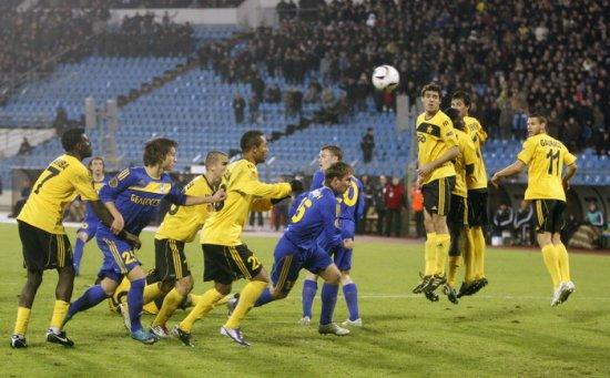БАТЭ досрочно вышел в плей-офф Лиги Европы