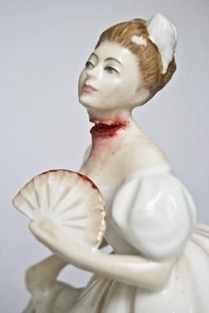 Керамика в стиле хоррор