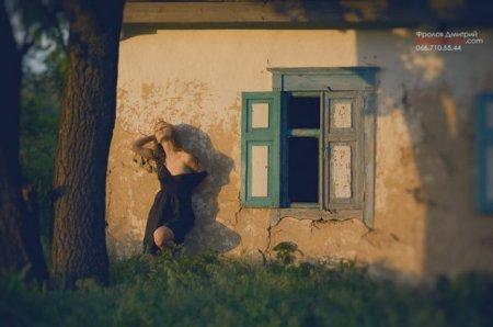 """Фотосессия """"заброшенный ветер"""" - Фотограф Дмитрий Фролов"""