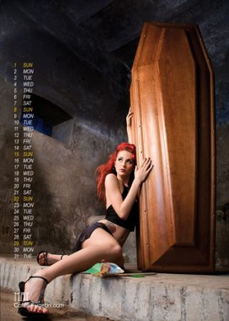 Календарь для похоронного бюро