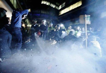 Студенческие протесты в Лондоне