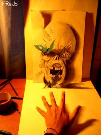 Классные 3D рисунки